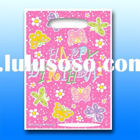 Happy Birthday Party Favor,Party Loot Bag ( Butterfly,Flower )