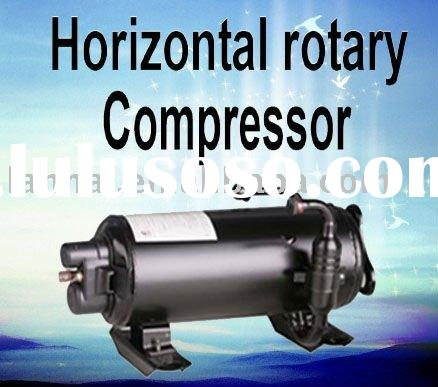 Hermetic refrigeration compressor for air conditioner dehumidifier heat pump