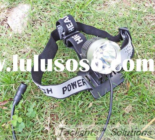 High-power 1,000 Lumens Rechargeable Ultra-bright CREE XM-L T6 10W LED Headlamp