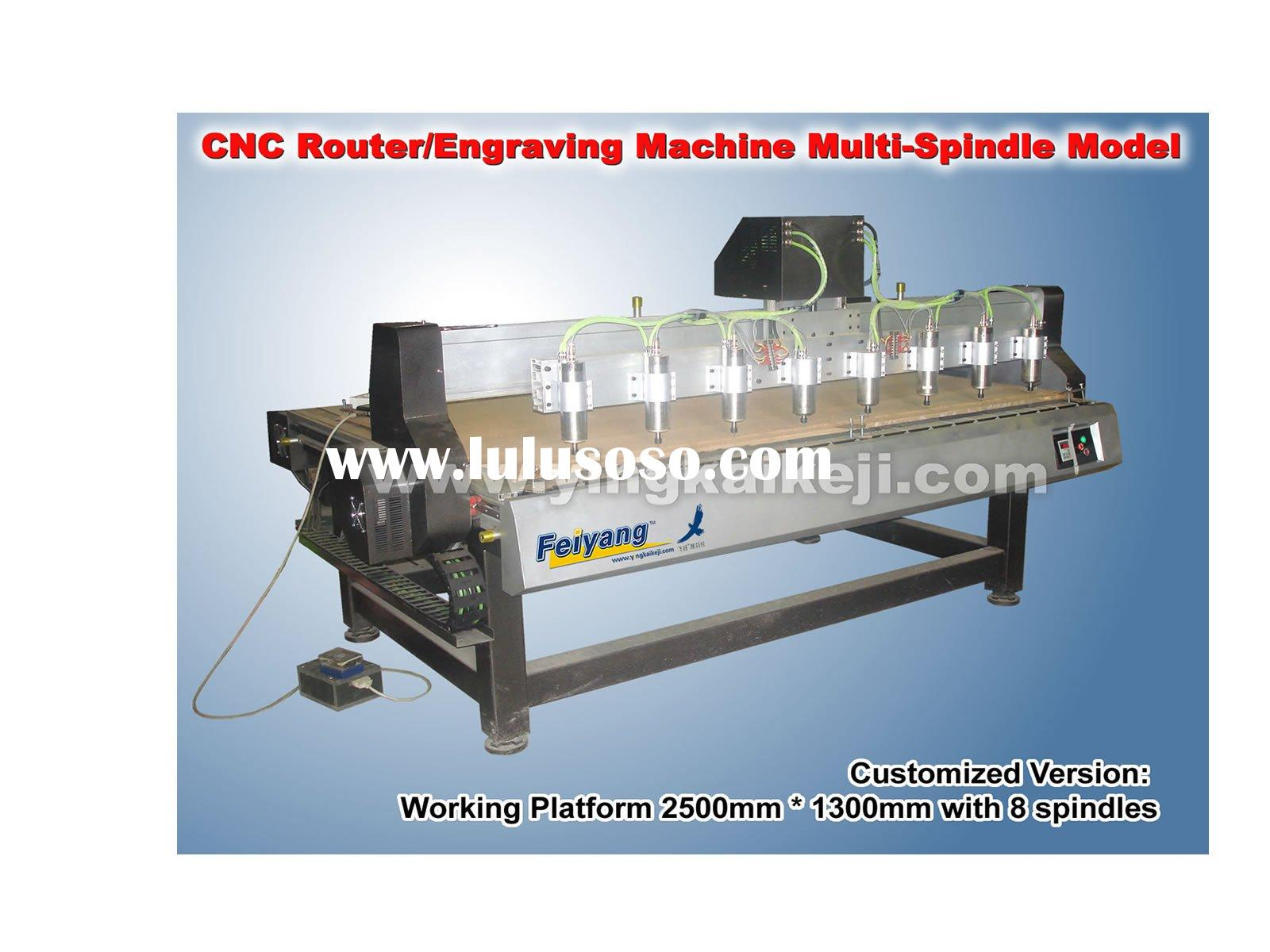 Highest speed CNC Router/Engraving Machine Multi-Spindle Version