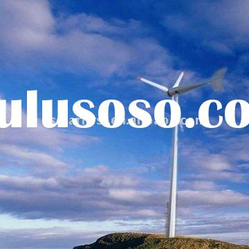 Horizontal Axis Wind Turbine Power And Tow Years Warranty ce-certified