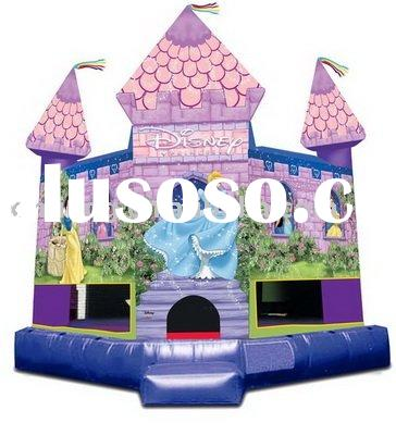 Inflatable bouncer castle in sports & entertainment