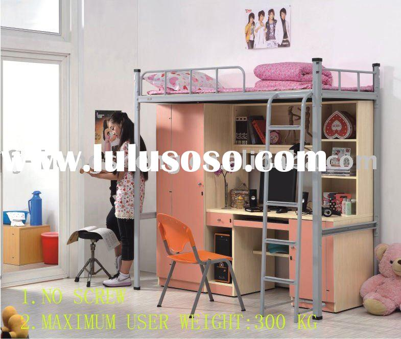 Kids Storage Drawers Loft Bed Desk for sale - Price,China ...