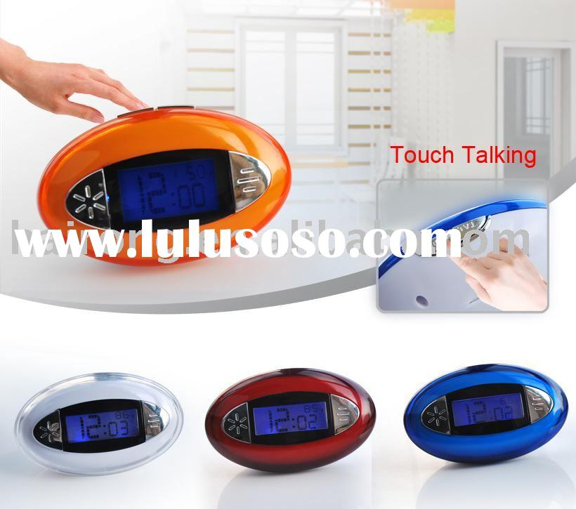 LED clock,Talking clock with blister card packing