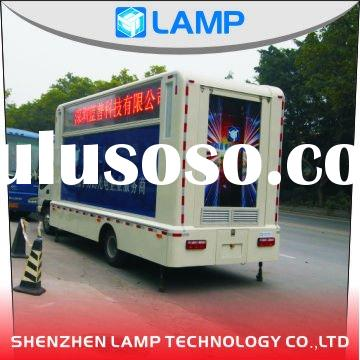 LED mobile display both for Ads and Event