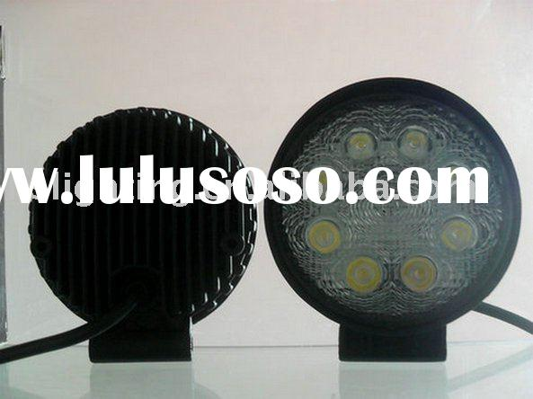 LED work lamp for construction equipment