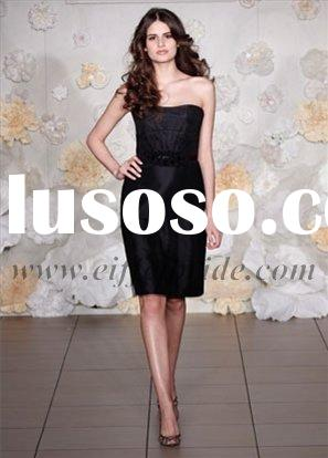 LZ-3007 black evening dress High quality wholesale price drop ship designer party dresses/evening dr