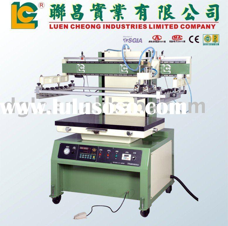 Large Format Flat Screen Printing Machine