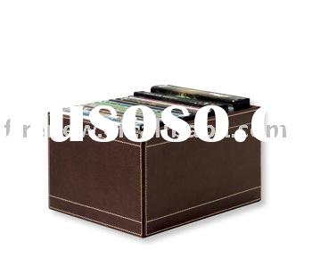 Leather DVD Storage Box