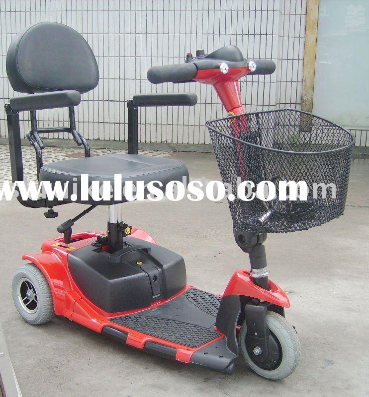 Light weight Folding and datachable Handicapped mobility scooter 3 wheel
