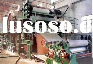 Low Power Consumption 1575 Type Waste Paper Recycling Machine