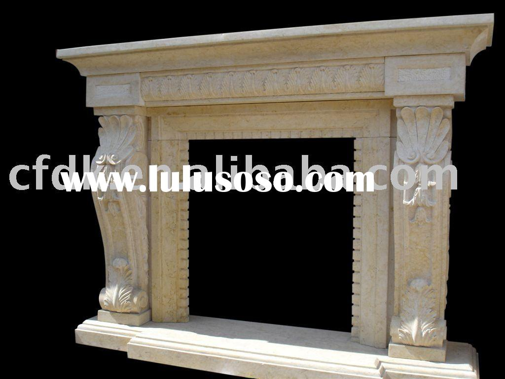 marble antique fireplace mantels for sale price china