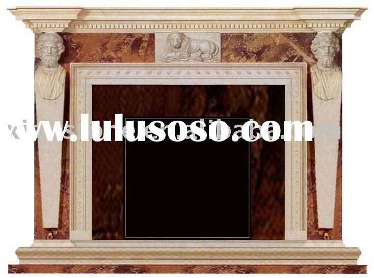 Marble antique fireplace mantels