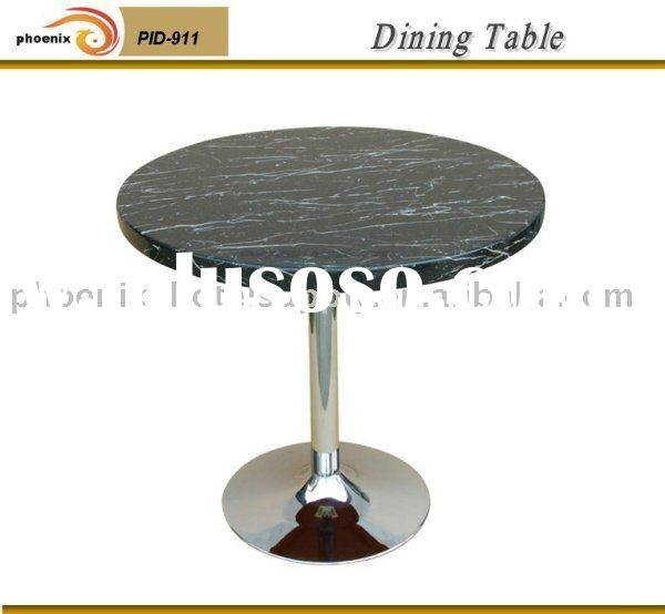 Marble top restaurant table
