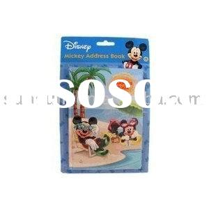 Mickey Mouse Address Book