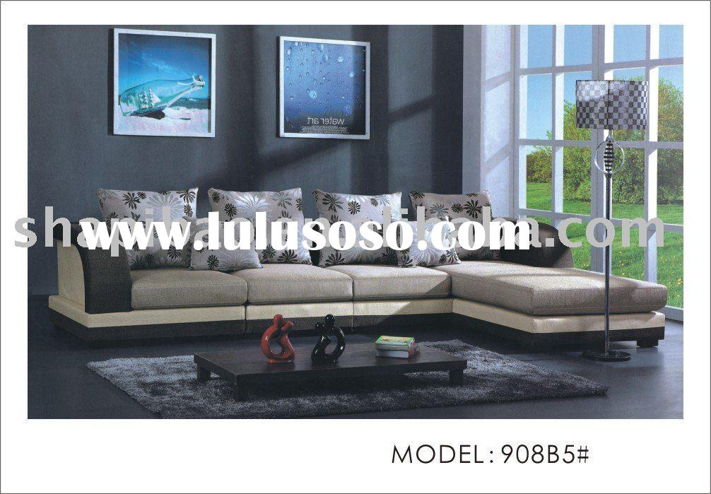 Microfiber Fabric Living Room Sofa Couch