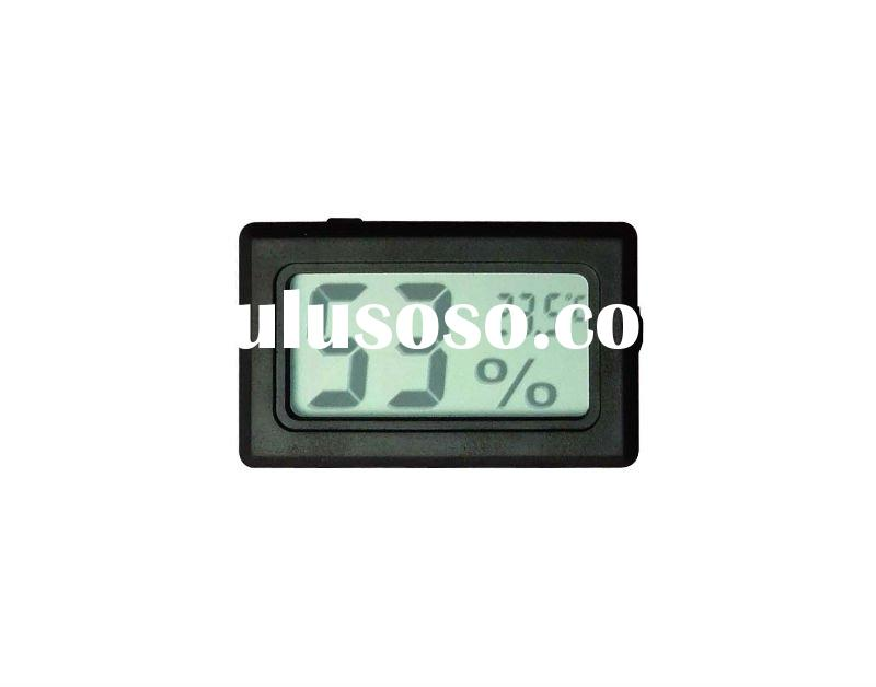 Mini digital hygrometer with thermometer