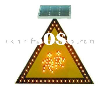 Most Pouplar Exported LED Solar School Warning Sign