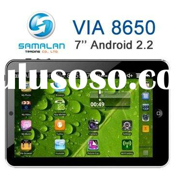 """New 7"""" Android 2.2 VIA8650 Netbook"""