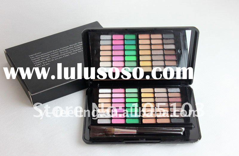 New 84 piece warm & shimmer makeup palette eyeshadow cosmetic