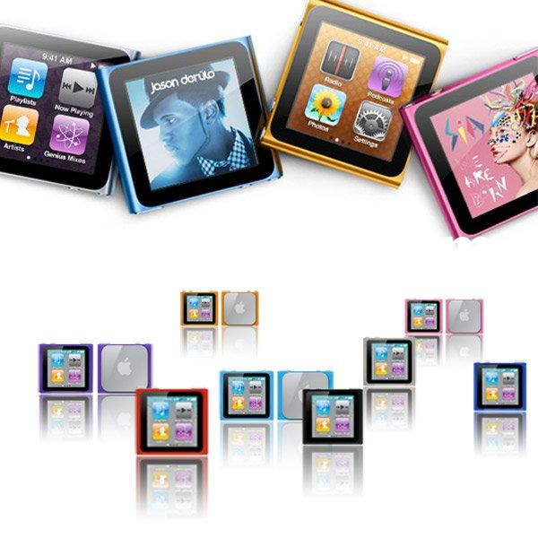 New Colorful Silicone Skin Case Cover for Apple iPod Nano 6 6th Gen