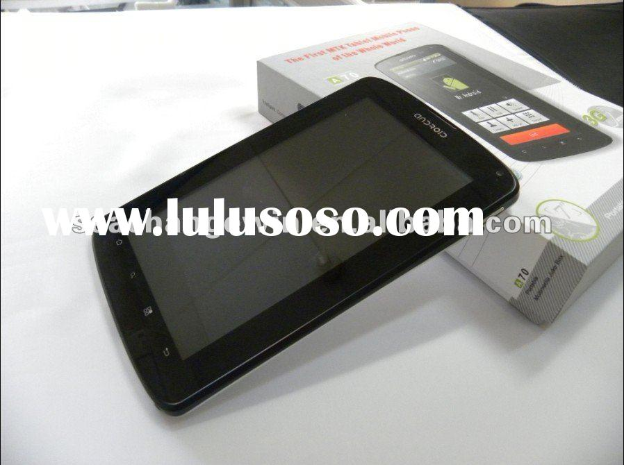 New released!MTK 1.2Ghz 7 inch capacitive touch screen tablet pc internal 3G,2MP camera,wifi.GPS,blu
