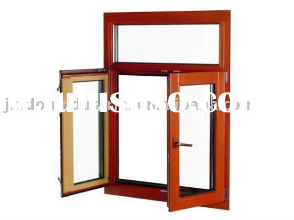 Newly Aluminum Wood Casement Window with Best Quality