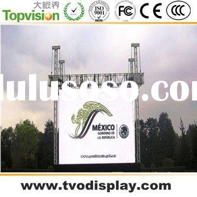 Outdoor 16mm Led Display Board Full Color For Advertising