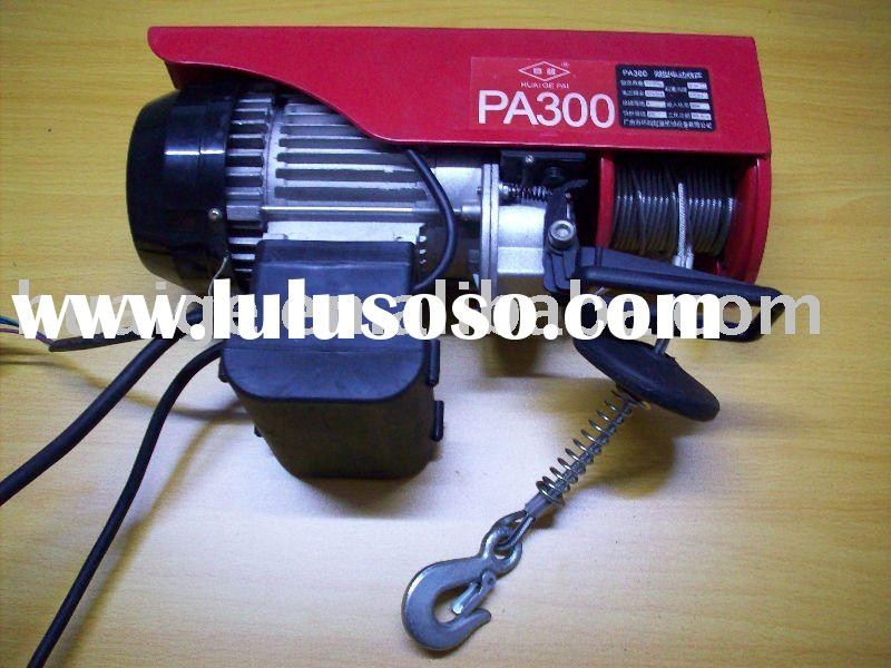 Pa 110v Mini Electric Hoist For Sale