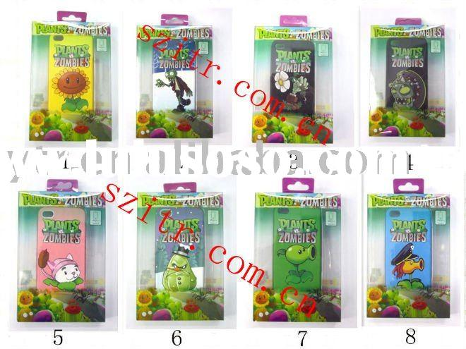 PLANTS vs Zombies Hard cover case for iPhone 4 with retail package