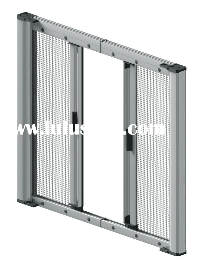 Roller insect screen window for sale price china for Roller fly screens for patio doors