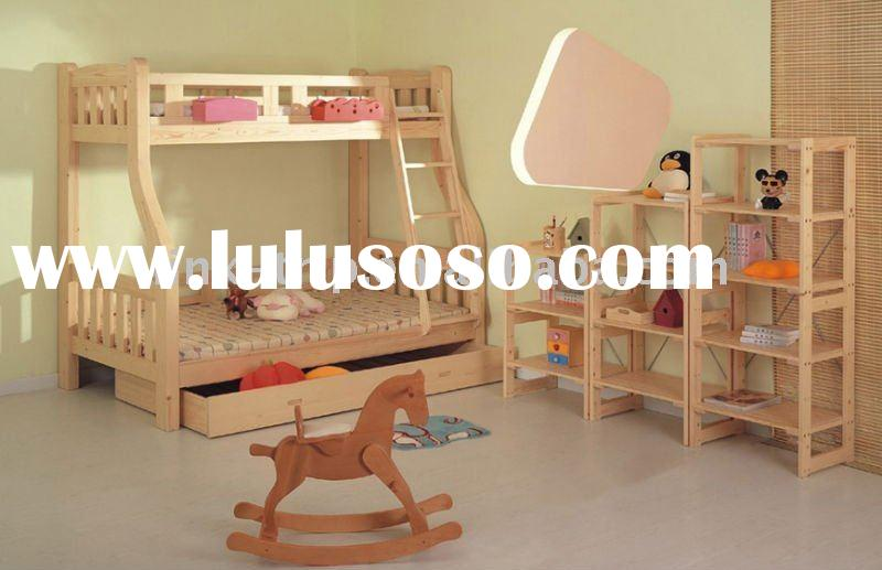 Pinewood bunk beds for kids