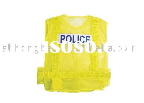 Police Reflective Vest (PVC reflective vest,reflective safety vest,traffic safety vest,safety clothe