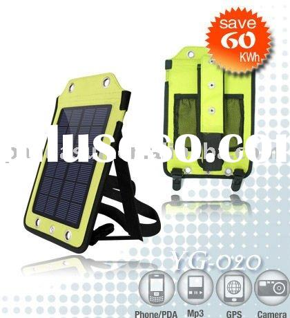 Premium Solar Charger - Ultra Thin Solar Powered Backup Battery and Charger for Cell Phones, PDAs, a