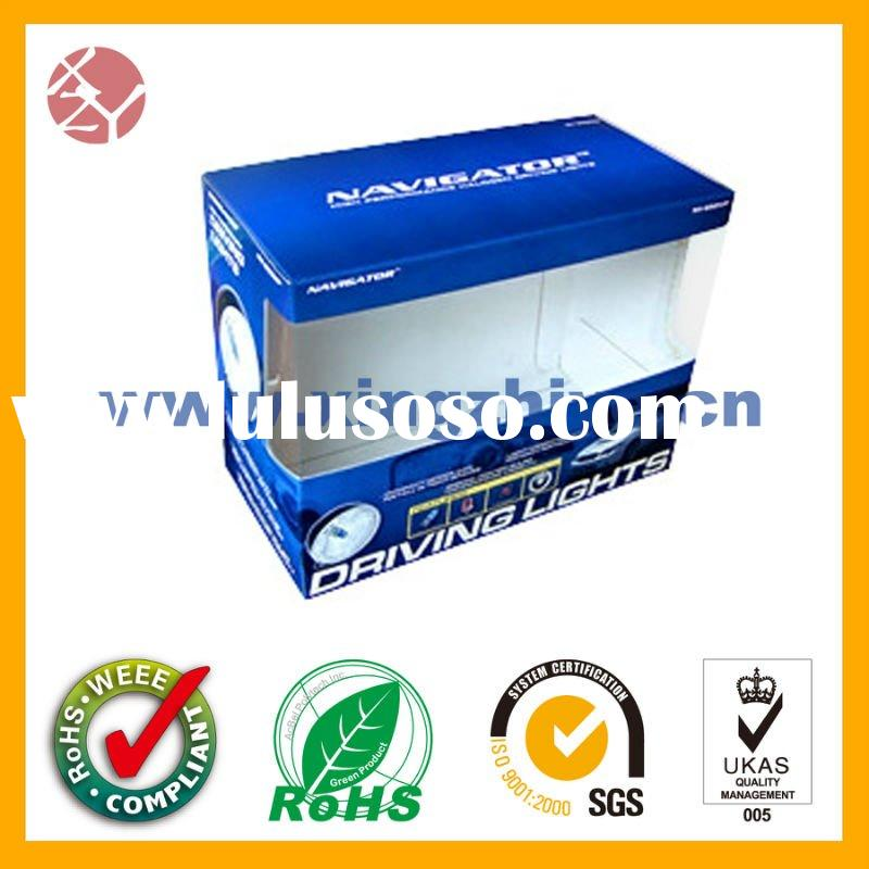 Printed Acetate/PVC window display retail packaging box