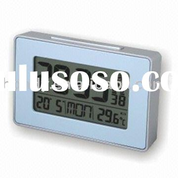 Radio-controlled digital Alarm Clock