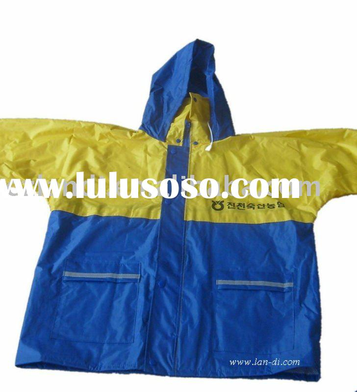 Raincoat in bag