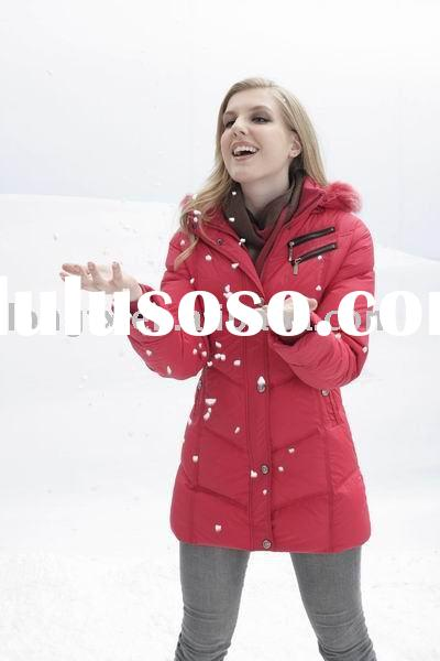 Red nice down jackets 2011