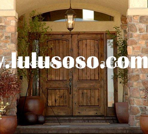 SOLID WOOD DOUBLE ENTRY DOOR CLASSIC DOORS