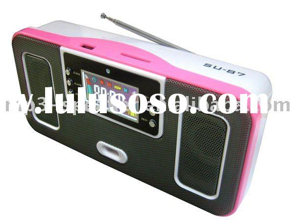 SU-87 Special Design Portable Music Speaker with wide screen
