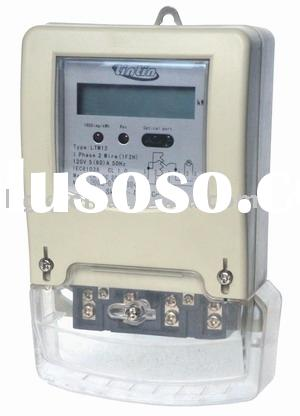 Single-phase two-wire digital electric energy meters