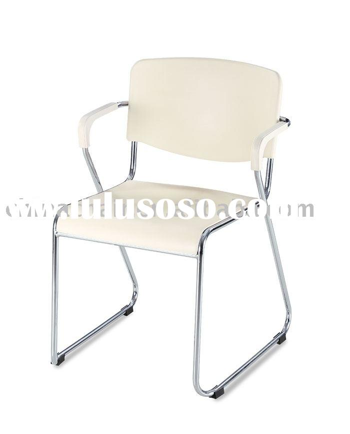 Stackable plastic commercial office waiting room table chair