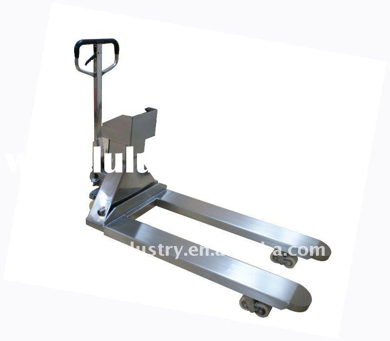 Stainless Steel Electronic Pallet Jack Scale