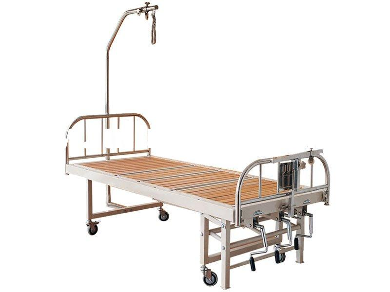 Stainless steel Orthopedics Traction Bed with Three Revolving Levers