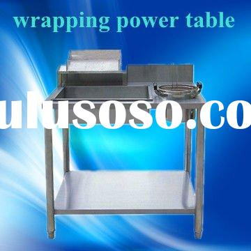 Stainless steel wrapping power table,JSGW-1000