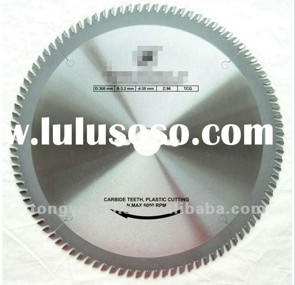 TCT circular saw blades for cutting plastic& FRP in general