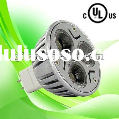 UL cUL certified MR16 LED spot light bulb with 3 years warranty