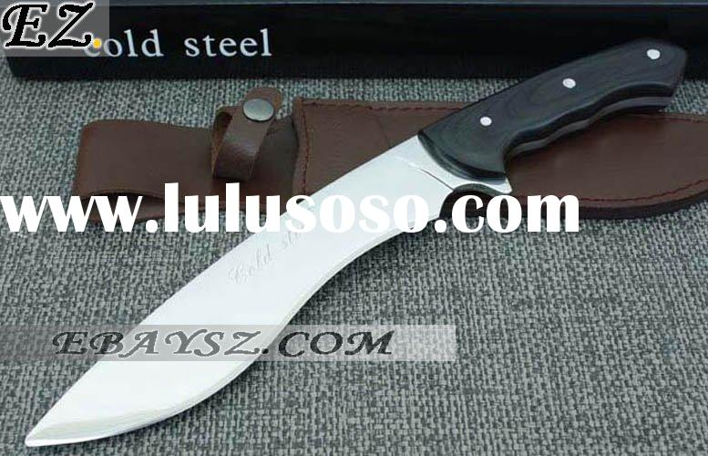 USA Cold Steel Dogleg Scimitar Knife Straight Fixed Blade Knife &Dz-0586