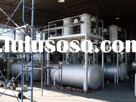Waste Rubber Plastic Pyrolysis Oil Refining System