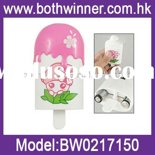 Wholesale Pocket Fan,Funny Ice Cream Fan,Mini Fan,Fruit Mini Fan, Student Fan